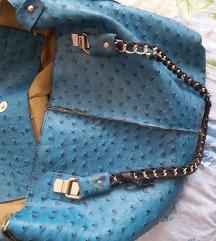 Nagy kék pakolós táska