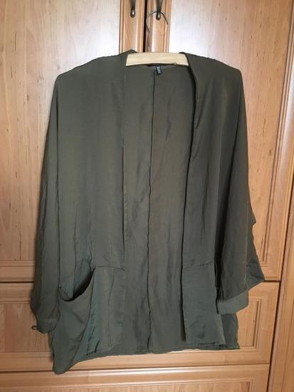 Zöld, keki kimonó, Bershka, M.es