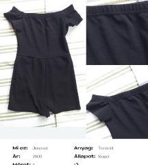 Kis Fekete Jumpsuit