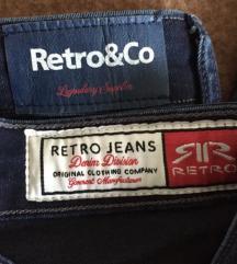 Retro jeans skinny high waist