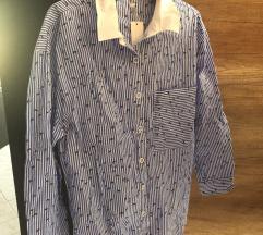 Kék oversize ing, címkés