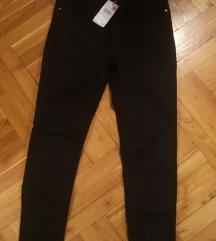 CÍMKÉS fekete 36-os Mango nadrág
