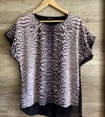 Leopárdmintás vékony póló