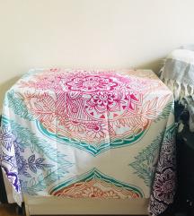 Mandala fali/ asztali dekor, strandkendő