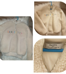 Bershka teddy coat