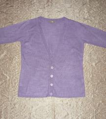 Új - Mályva vékony pihe-puha női kardigán - 14-es
