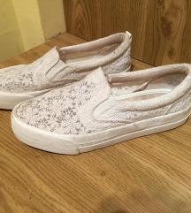 bershka fehér új cipő 38