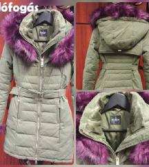 Guess jeans kapucnis szőrös kabát Xs 39b41b02e3