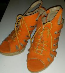 ÚJ!!Narancssárga szandál INGYEN FOXPOST