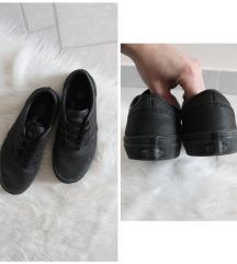 Eredeti Vans fekete műbőr női cipő