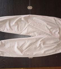 Vajszínű buggyos nadrág
