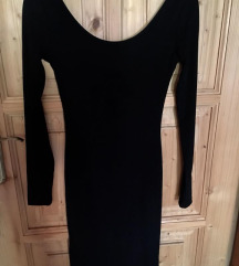 H&M testhez simuló hátán mélyen kivágott ruha
