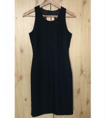 Elegáns fekete midi ruha