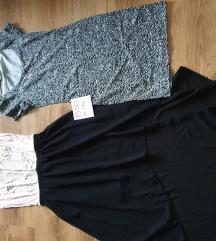 Hátul hosszabb ruha és H&M-es ruha