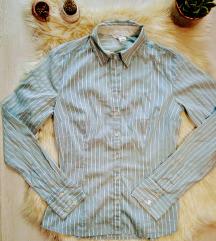 H&M csíkos karcsúsított ing 34/XS