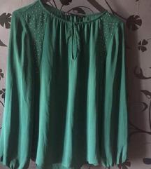 Zara méregzöld ing