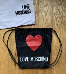 Eredeti Moschino hátizsák tornazsák backpack