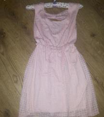 Rózsaszín S méretű nyári ruha