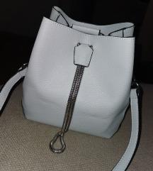 Kék műbőr táska