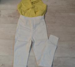 Magasderekú fehér nadràg