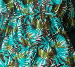 Pálma leveles strand ruha
