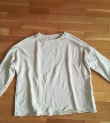 Törtfehér bő Pull&Bear pulcsi