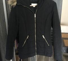 H&M fekete kapucnis kabát