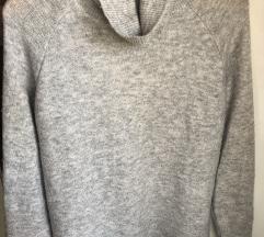 H&M szürke kötött pulcsi