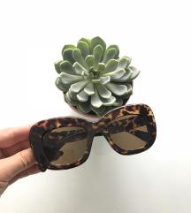 Oversized leopárd napszemüveg Új