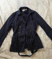 Pöttyös H&M tavaszi kabátka