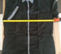 Férfi rövidujjú fekete ing