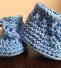 Horgolt babacipő 0-3 hónap