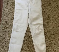 Fehér Bershka nadrág