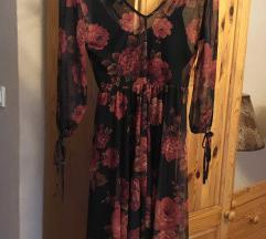 new look virágos ruha