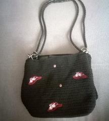Fekete kistáska, táska
