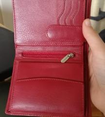 Genuine leather bőr pénztárca, új