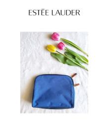 Estée Lauder kék neszeszer