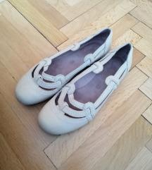 bézs kényelmes bőr topánka