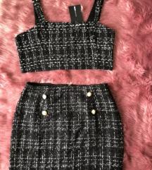 ÚJ! FashionNova tweed szett