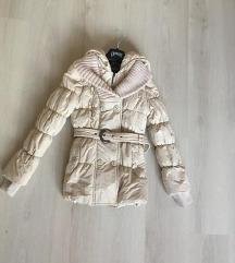 S drapp hosszított csinos téli kabát