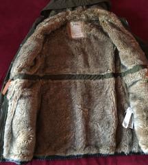 Zara bundás télikabát