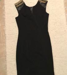 Fekete Missy alkalmi ruha egyszer viselt M