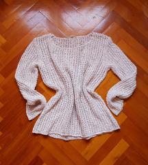 Esprit horgolt/kötött pulcsi S-M