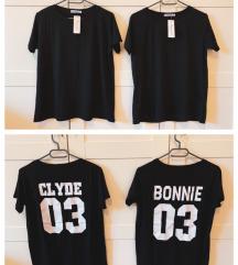 Bonnie&Clyde páros póló (M/L)
