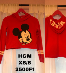 H&M mickey pulcsi
