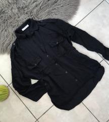 Mango sötétkék ing hátul hosszitott