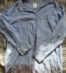 Kék-fehér csíkos H&M tunika