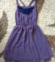 Keresztpántos lányka ruha