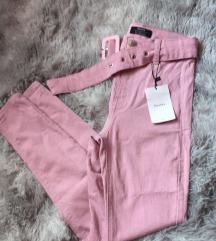 Új cimkés Bershka , pink nadrág övvel