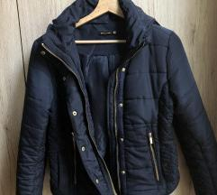 Stradivarius kék kabát dzseki M